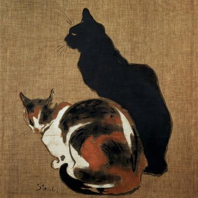 Two Cats, 1894-Theophile Alexandre Steinlen-Giclee Print