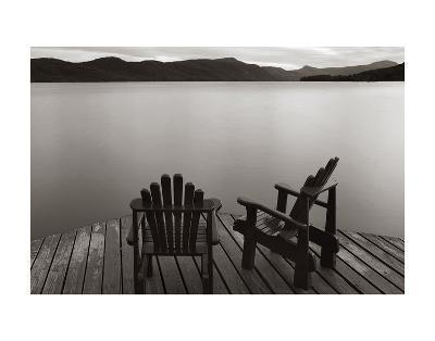 Two Chairs-James McLoughlin-Art Print