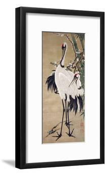 Two Cranes-Jakuchu Ito-Framed Giclee Print