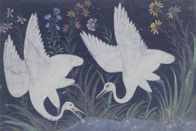 Two Cranes--Giclee Print