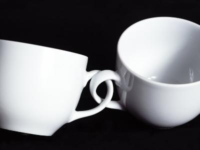 Two Cups with Intertwined Handles-Monzino-Photographic Print