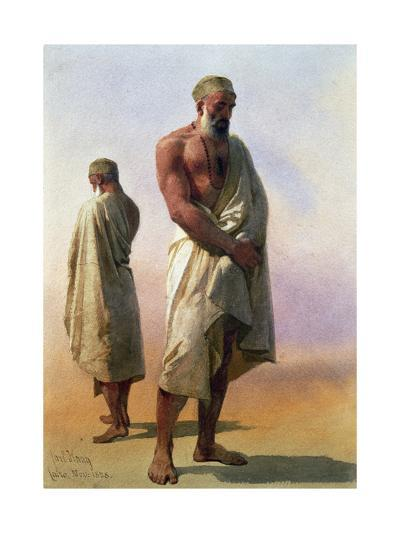 Two Dervishes, 1858-Carl Haag-Giclee Print
