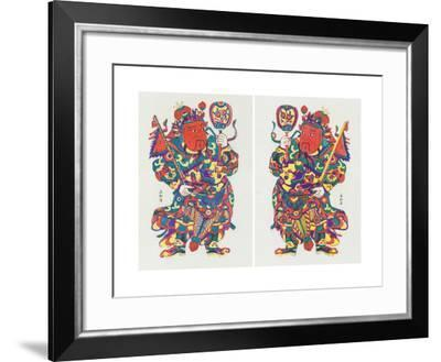 Two Door Gods, C.1980s--Framed Giclee Print
