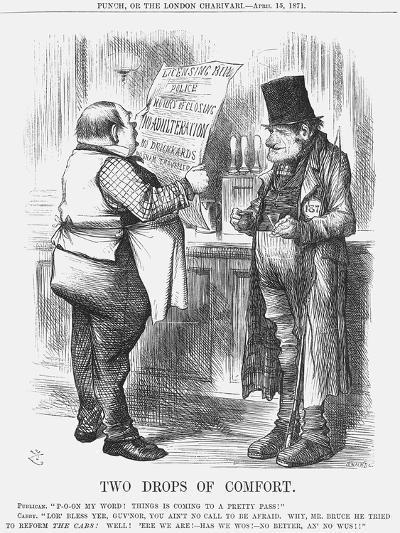 Two Drops of Comfort, 1871-Joseph Swain-Giclee Print