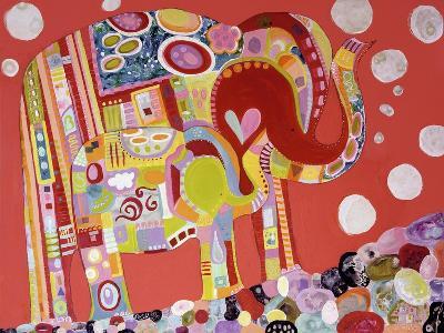 Two Elephants-Wyanne-Giclee Print
