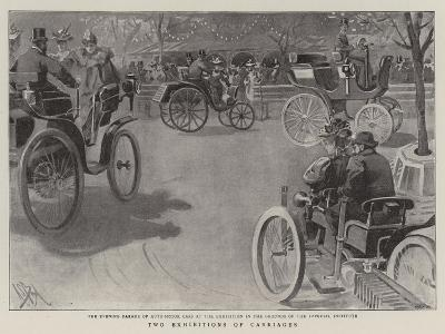 Two Exhibitions of Carriages-Alexander Stuart Boyd-Giclee Print