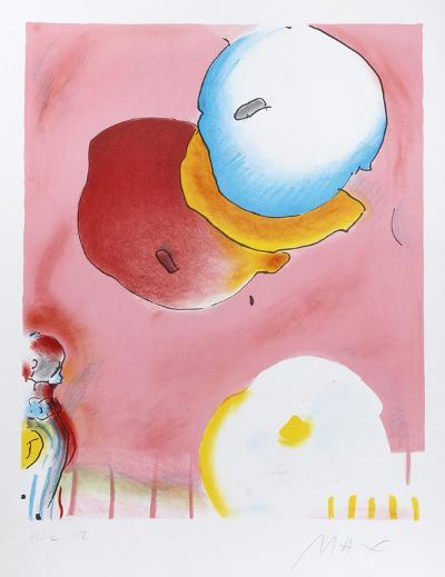 Two Floating-Peter Max-Limited Edition