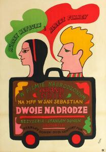 Two for the Road, Polish Movie Poster, 1967