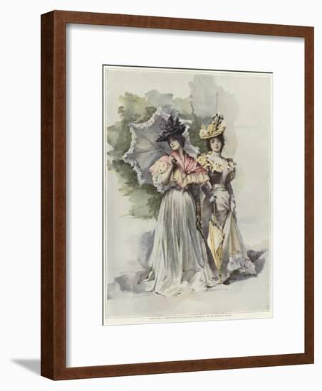 Two Friends by Madeleine Lemaire-Madeleine Lemaire-Framed Giclee Print