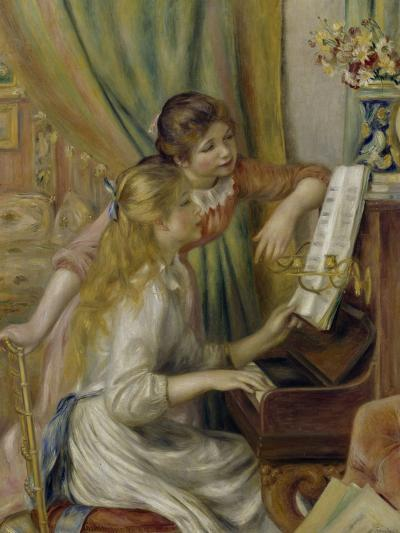 Two Girls at the Piano, c.1892-Pierre-Auguste Renoir-Giclee Print