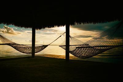 Two Hammocks at Sunset - Florida-Philippe Hugonnard-Photographic Print