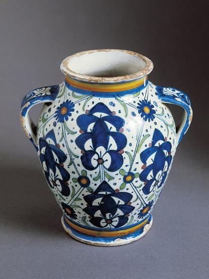 Two-Handled Bulbous Jug Decorated with Persian Palmettes--Giclee Print