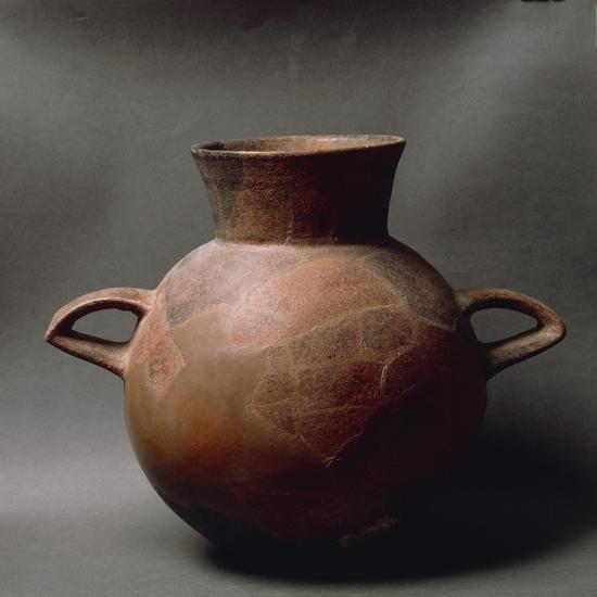 Two-Handled Fictile Amphora, from Sardinia Region--Giclee Print