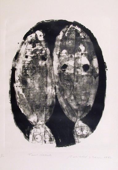 Two heads-Ronald Jay Stein-Limited Edition