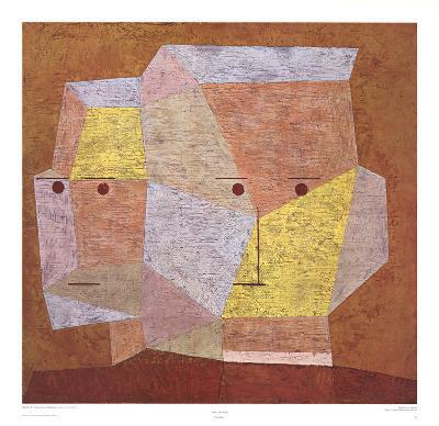 Two Heads-Paul Klee-Art Print