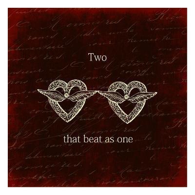 Two Hearts-Sheldon Lewis-Art Print