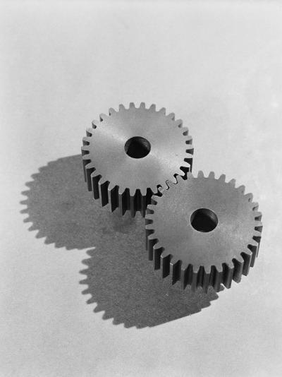 Two Interlocking Gears-H^ Armstrong Roberts-Photographic Print