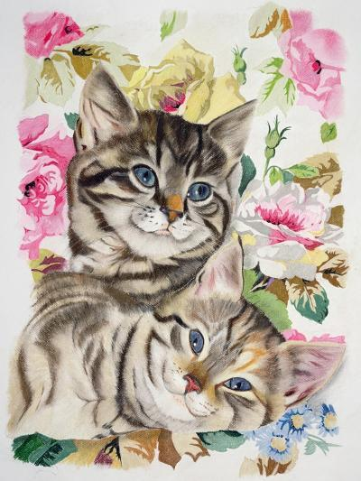 Two Kittens-Anne Robinson-Giclee Print