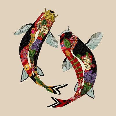 Two Koi-Sharon Turner-Art Print
