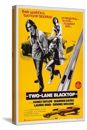 Two-Lane Blacktop, James Taylor, Laurie Bird, Dennis Wilson, 1971