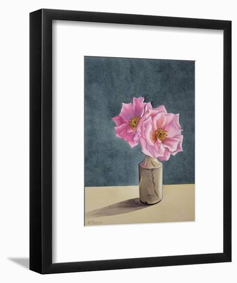 Two Late Roses-Christopher Ryland-Framed Giclee Print