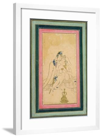 Two Lovers, C.1590, Persian--Framed Giclee Print
