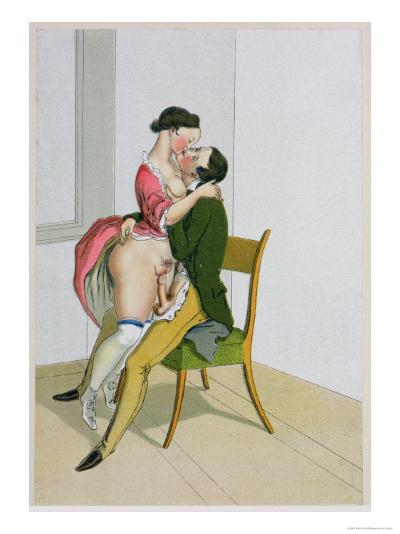 Two Lovers, Published 1835, Reprinted in 1908-Peter Fendi-Giclee Print