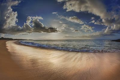 Two Mile Long Papohaku Beach, on West End of Molokai Island-Richard Cooke-Photographic Print