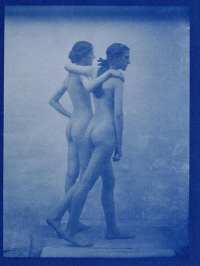 Two Models Embracing, 1904-Edward Linley Sambourne-Giclee Print