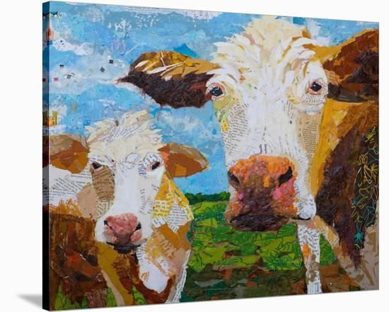 Two Muse--Stretched Canvas Print