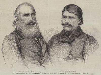 Two Nestorians at the Strangers' Home for Asiatics, Limehouse--Giclee Print