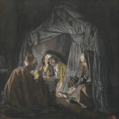 Two or Three Gathered in My Name from 'The Life of Our Lord Jesus Christ'-James Jacques Joseph Tissot-Giclee Print