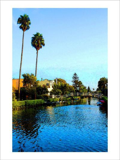 Two Palm Trees in the Sky-Jack Heinz-Giclee Print
