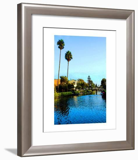 Two Palm Trees in the Sky-Jack Heinz-Framed Giclee Print