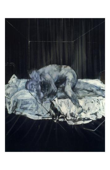 Two People, c.1953-Francis Bacon-Art Print