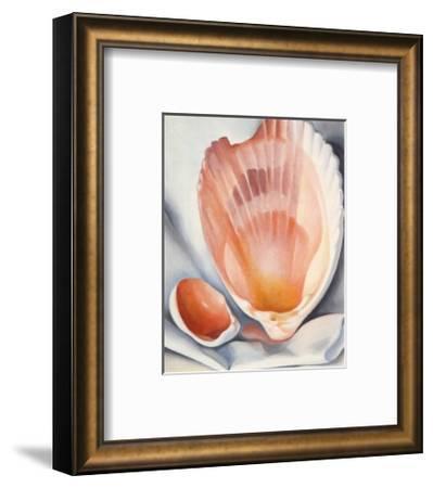 Two Pink Shells, 1937-Georgia O'Keeffe-Framed Art Print
