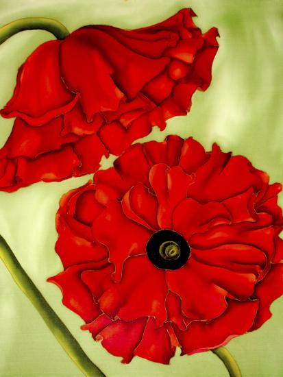 Two Poppies-Holly Carr-Giclee Print