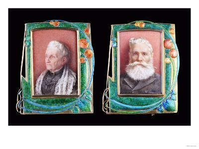 Two Rare Liberty Silver Gilt and Enamel Picture Frames, 1907 & 1906-Alvar Aalto-Giclee Print