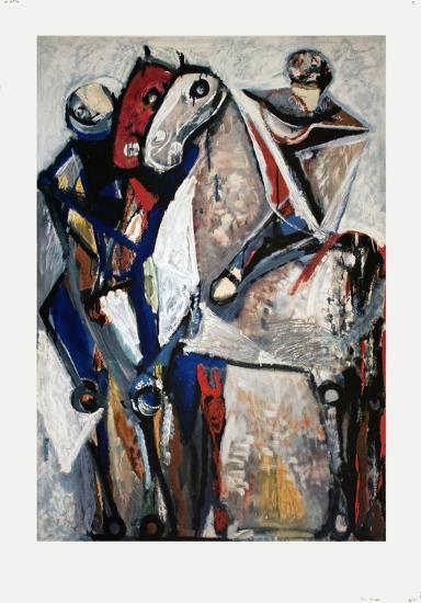 Two Riders-Marino Marini-Collectable Print