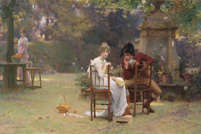 Two's Company, Three's None, C.1892-Marcus Stone-Giclee Print