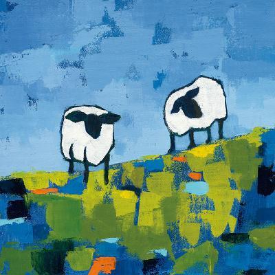 Two Sheep-Phyllis Adams-Art Print
