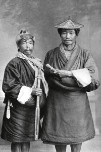 Two Sikkimese Men, C1910
