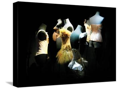Two Silk Corsets-Golie Miamee-Stretched Canvas Print