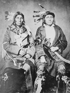 Two Sioux Chiefs, 1862
