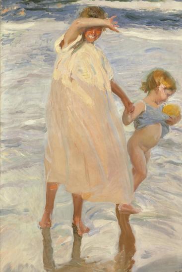 Two Sisters, Valencia, 1909-Joaquin Sorolla y Bastida-Giclee Print