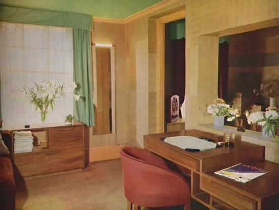 'Two small rooms converted for use as bedroom and study', 1933-Unknown-Photographic Print