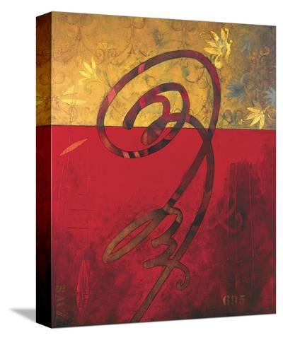Two Steps to Writing-William Spencer III-Stretched Canvas Print