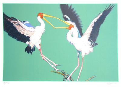 Two Storks-Fran Bull-Limited Edition
