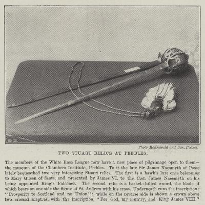 Two Stuart Relics at Peebles--Giclee Print