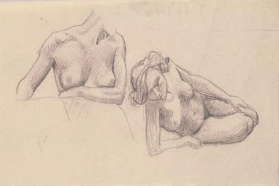 Two Studies of Female Nudes-F?lix Vallotton-Giclee Print